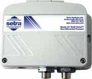 Setra Systems, Inc. - 231 (Wet-to-Wet Pressure Transducer